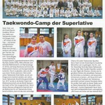 Taekwondo-Camp der Superlative