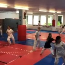 Finishing a great training session